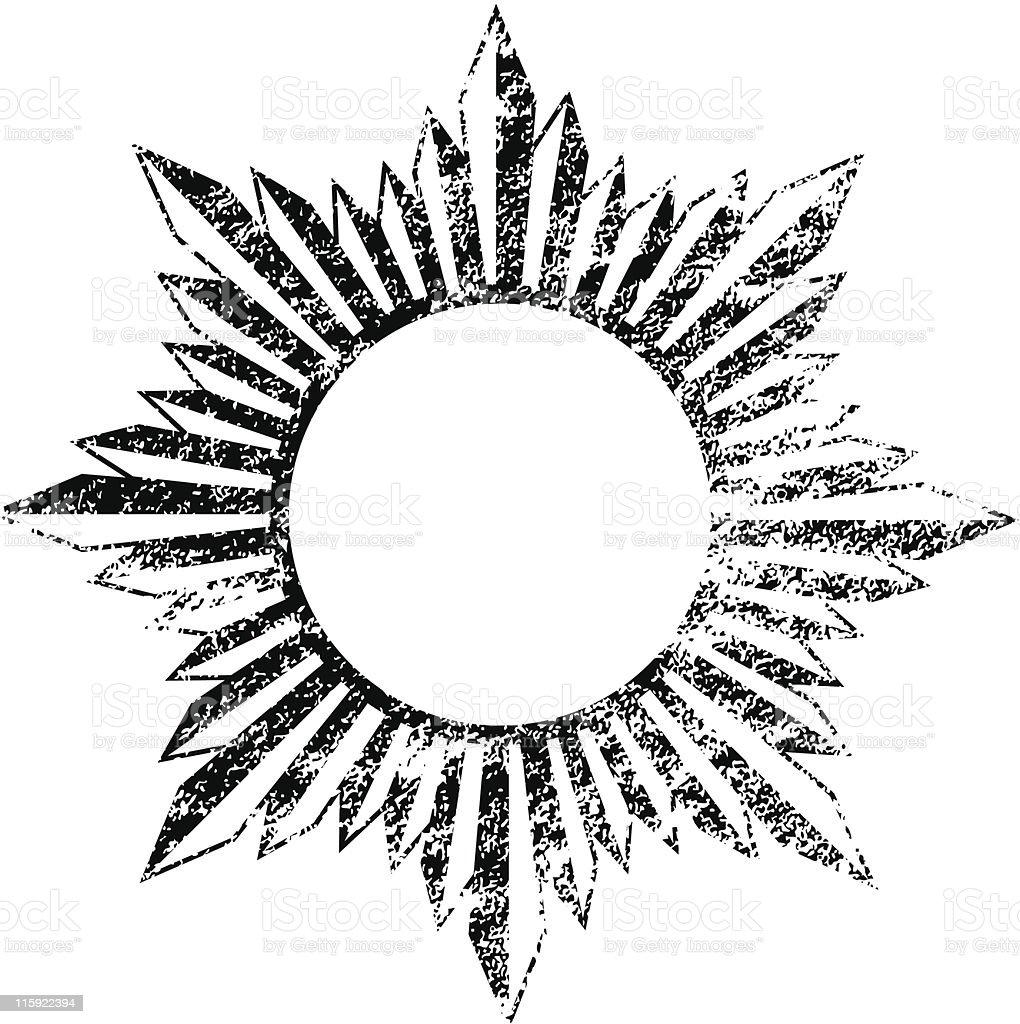 Grunge Frame - Vector File royalty-free stock vector art
