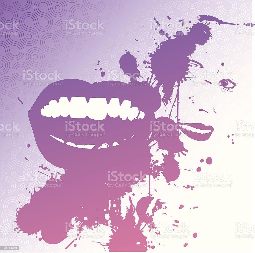 Grunge illustration royalty-free stock vector art