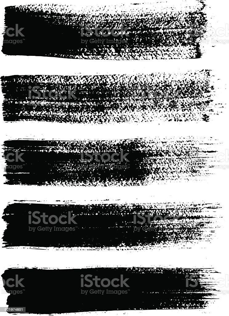 grunge line vector art illustration