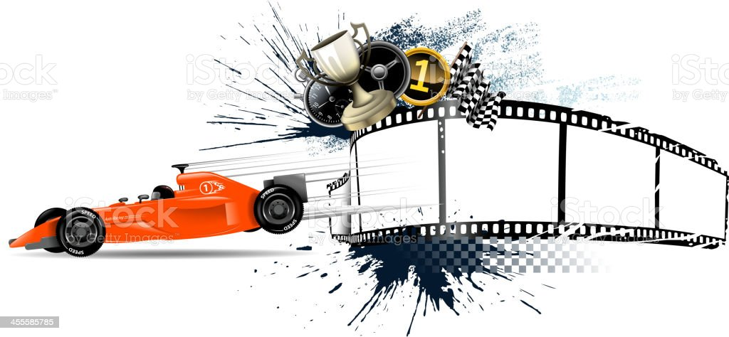grunge motorized sport materials royalty-free stock vector art