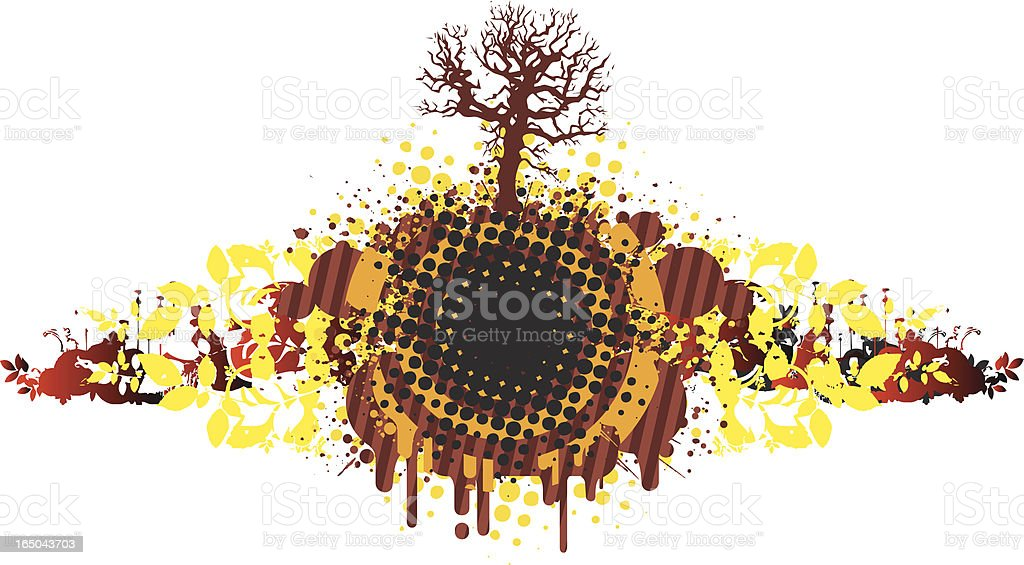 Grunge natural design royalty-free stock vector art
