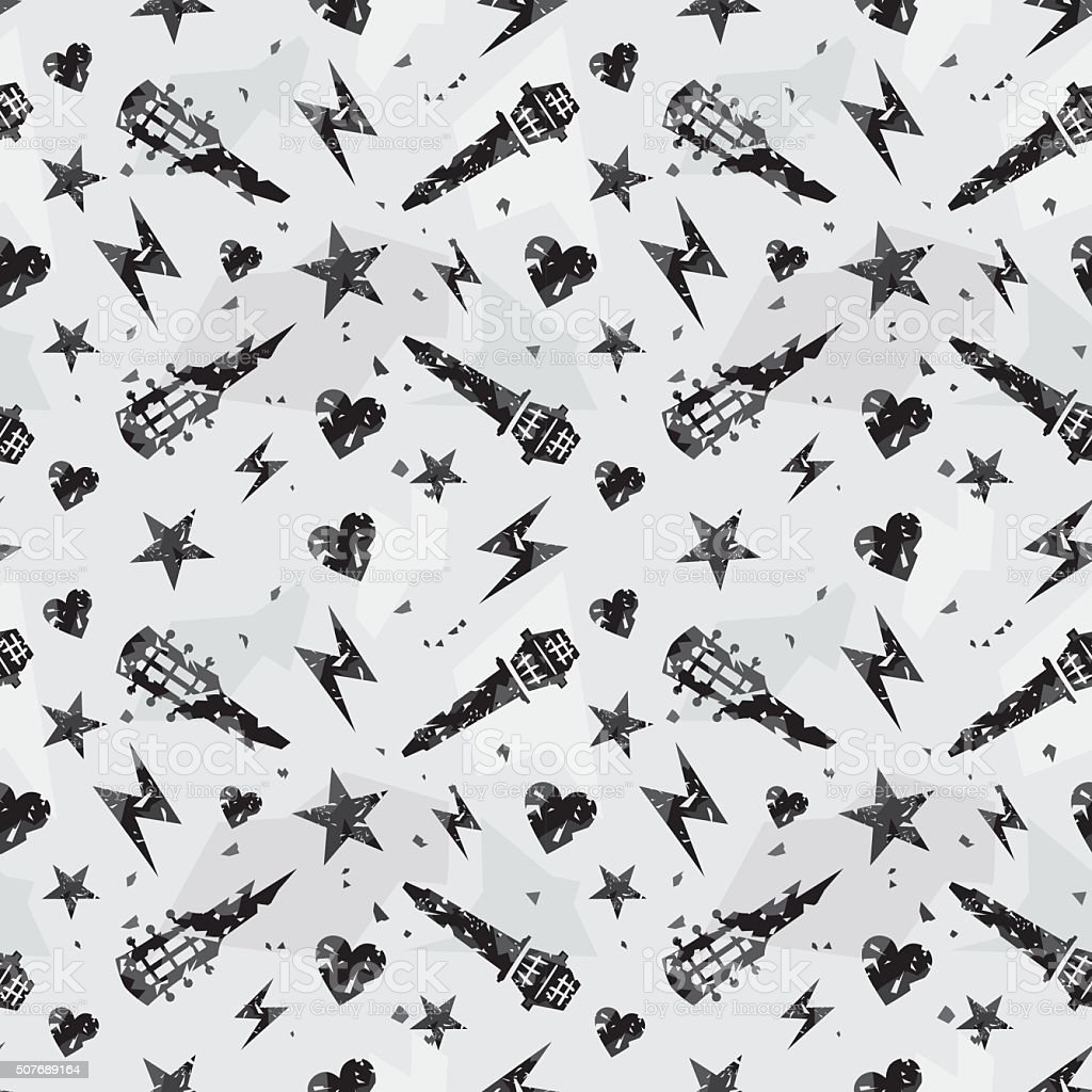 Grunge pattern vector art illustration