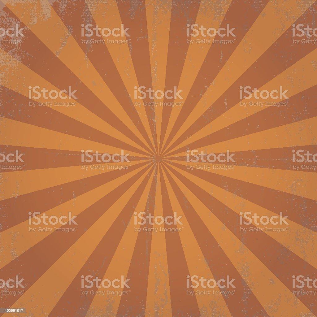grunge scratched sun ray illustration vector art illustration