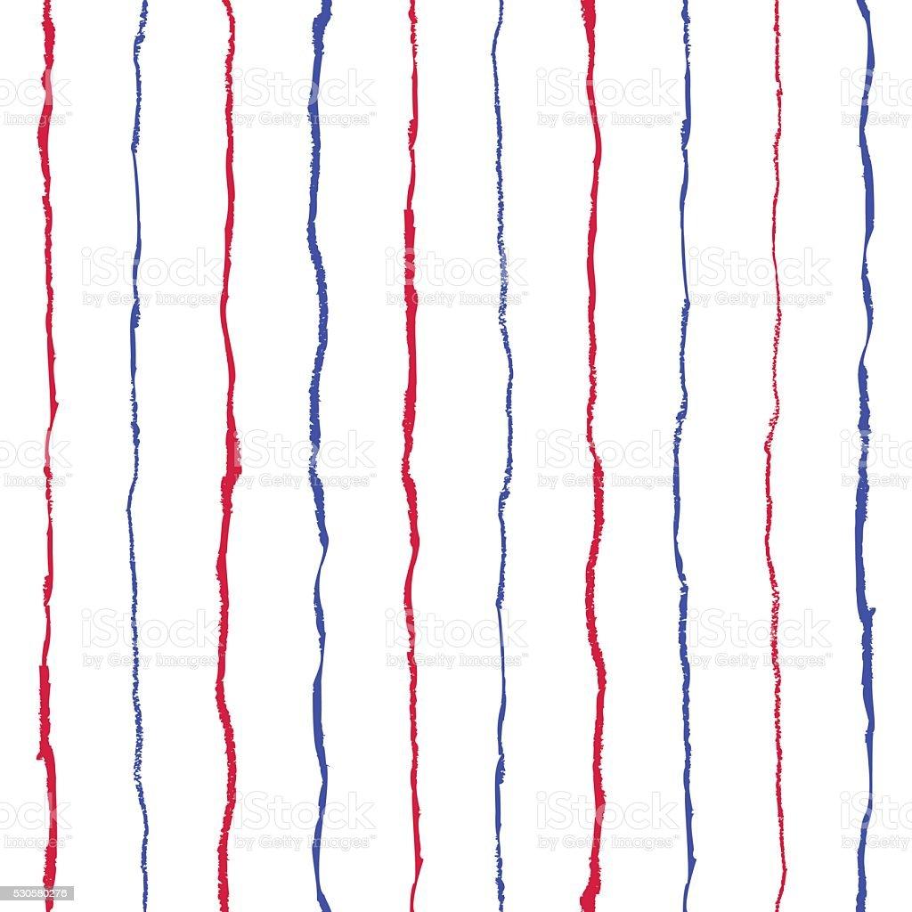 Grunge seamless pattern vector art illustration