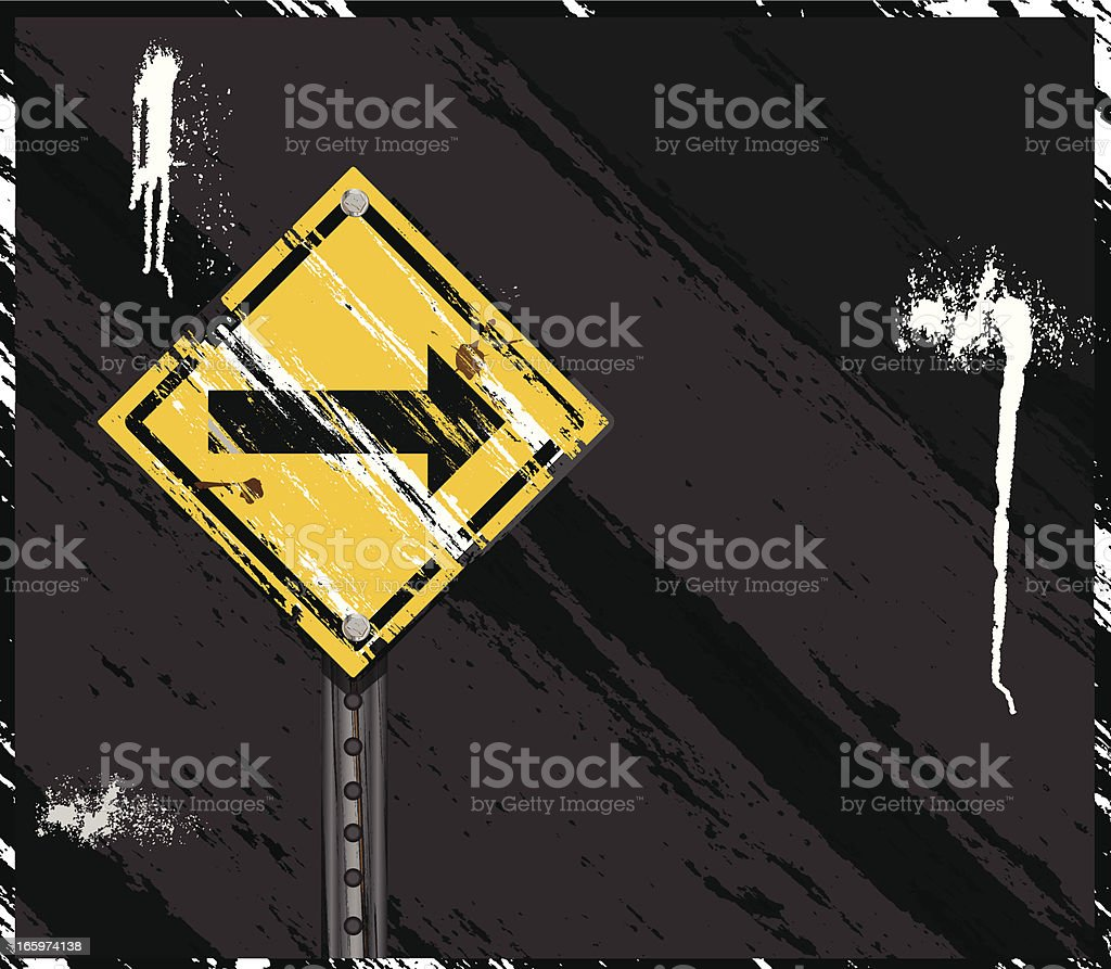 Grunge Sign Background royalty-free stock vector art