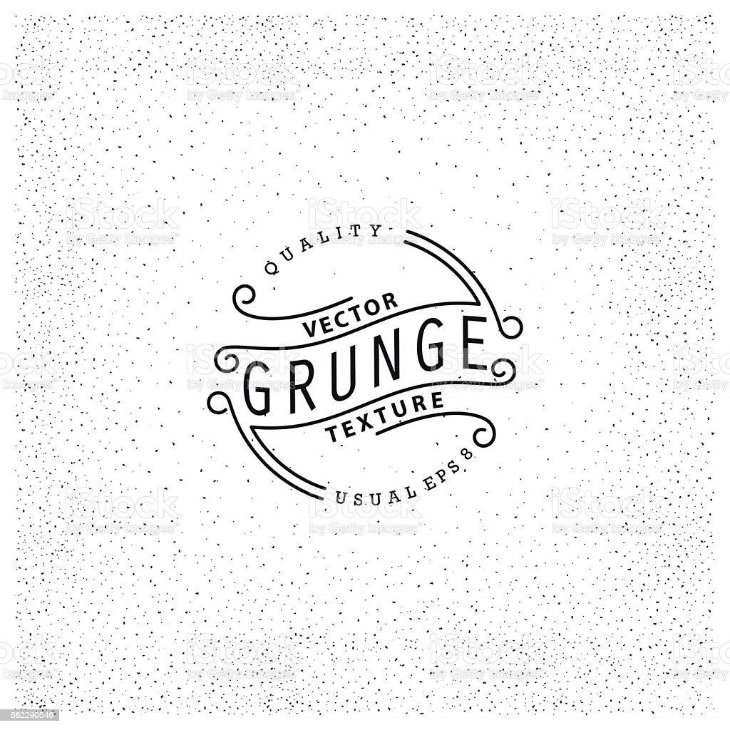 Grunge texture vector art illustration