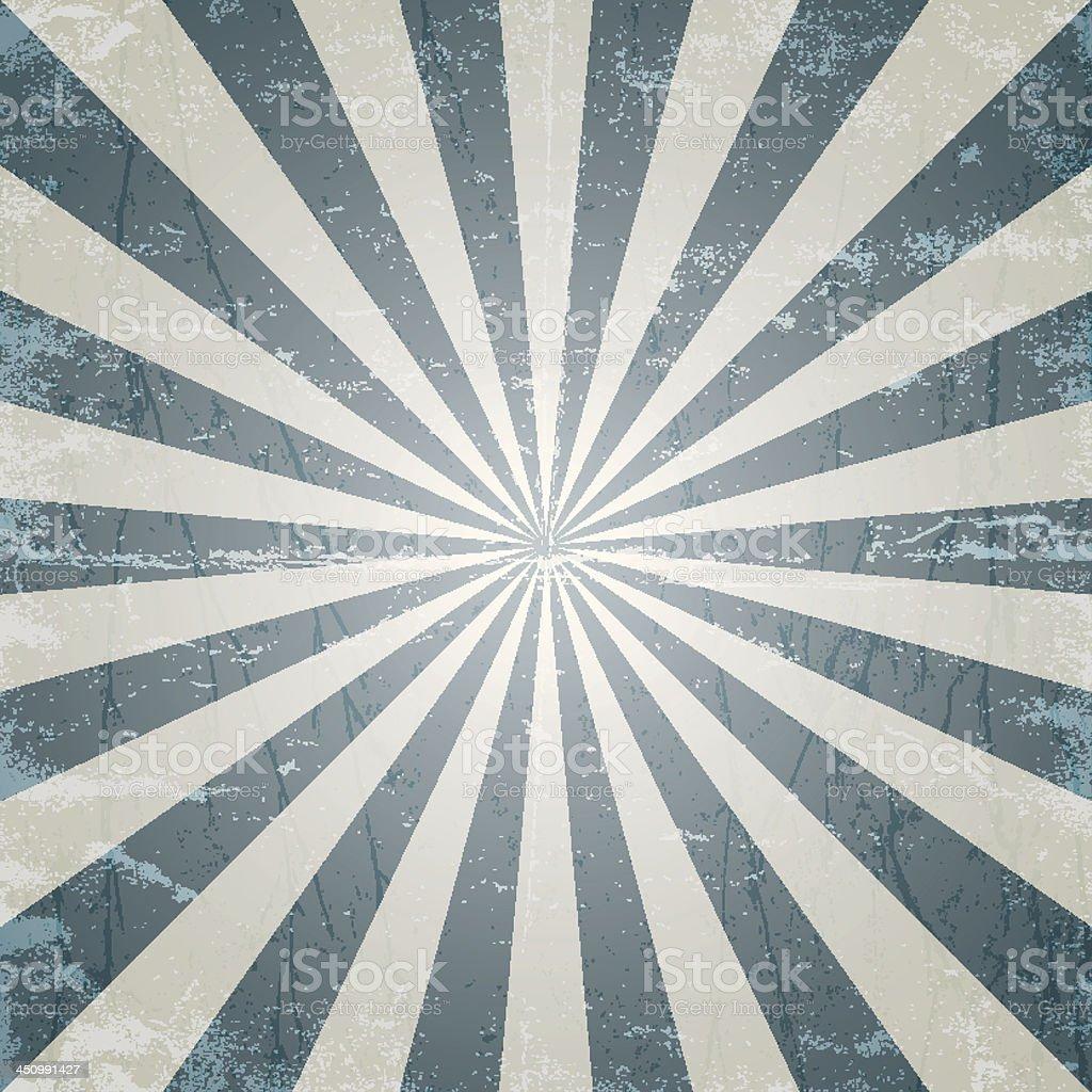 grunge textured sun ray illustration vector art illustration