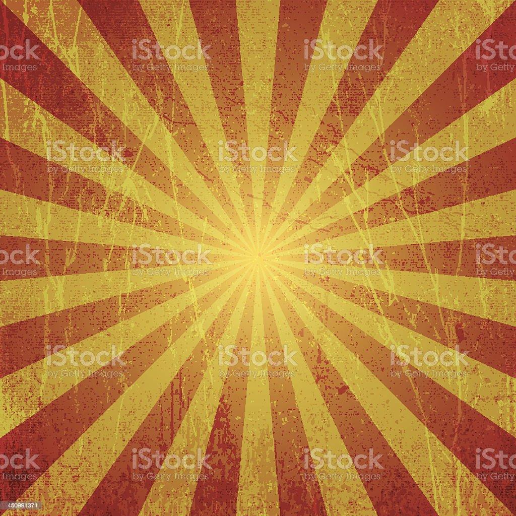grunge textured sun say illustration vector art illustration