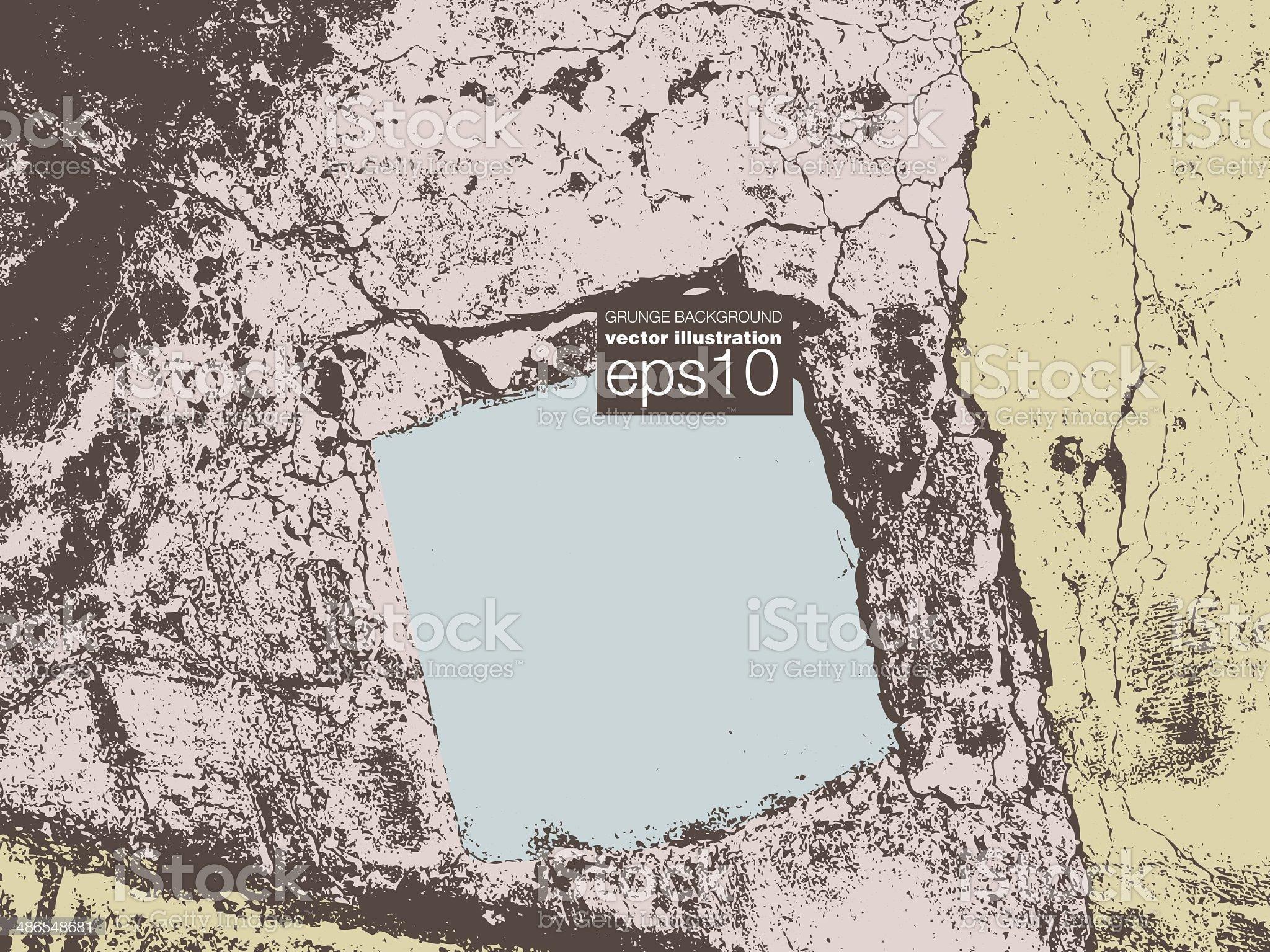 Grunge vector background illustration royalty-free stock vector art