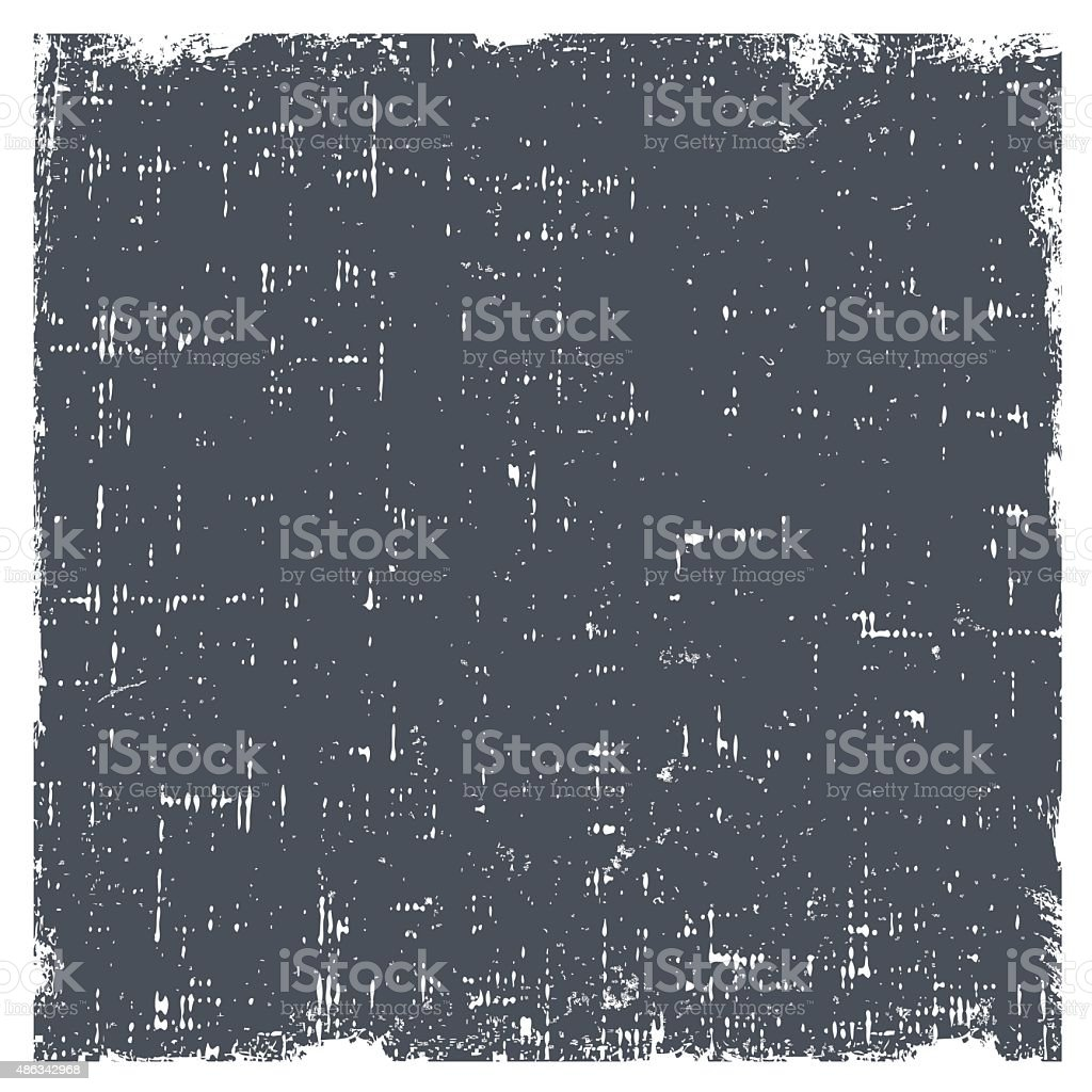 Grunge vector background texture with dust and rough edges vector art illustration