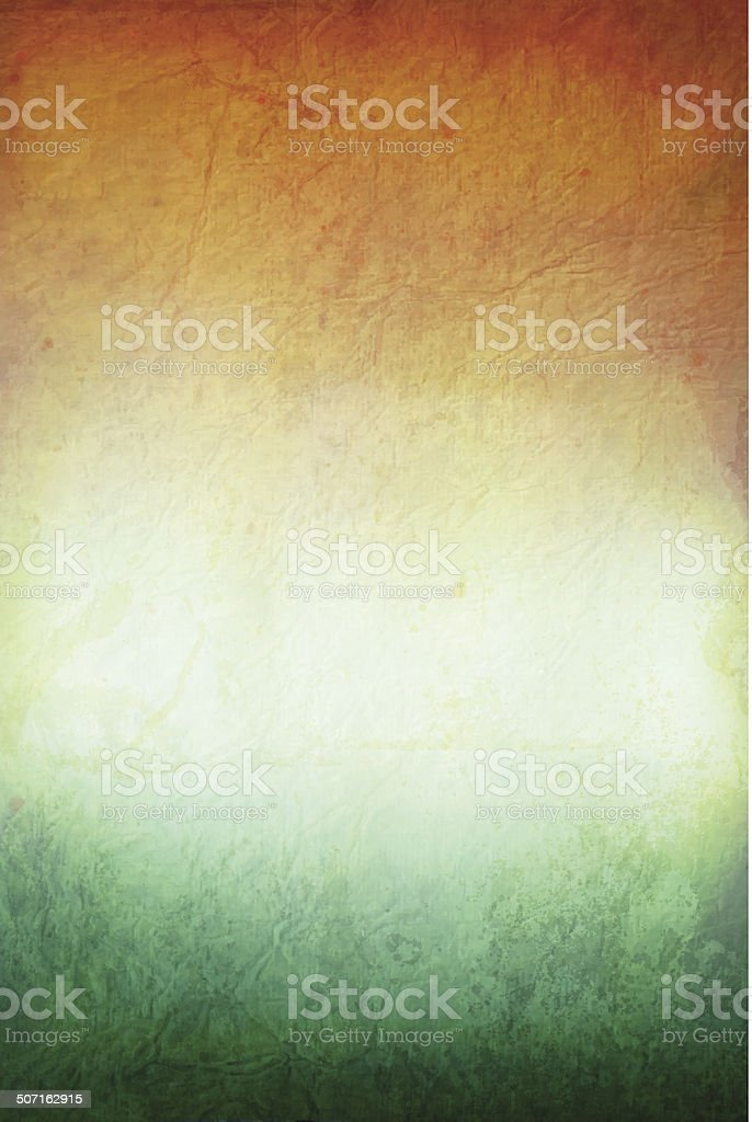 Grunge vector background with colors of similar flags vector art illustration