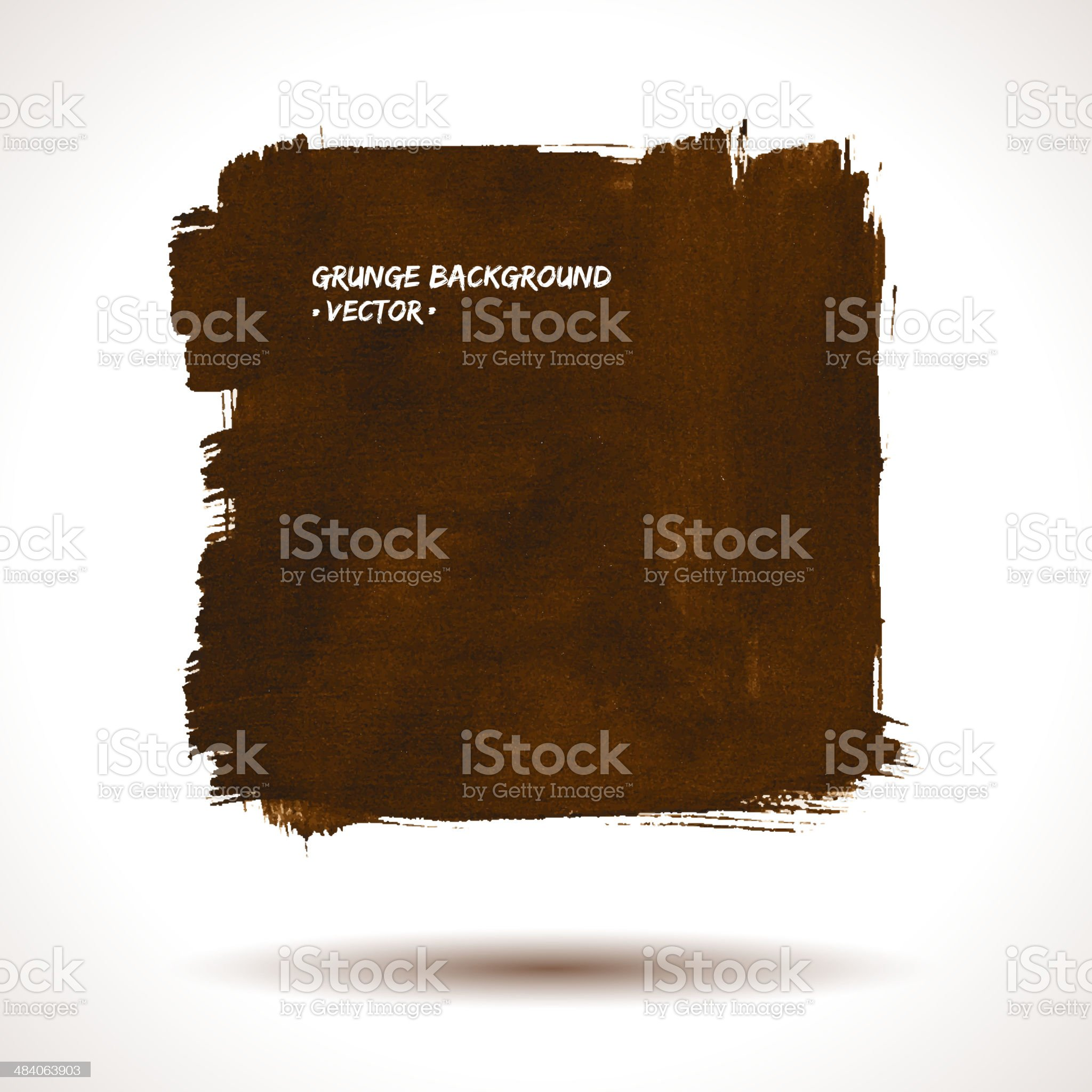 Grunge vector brown background royalty-free stock vector art