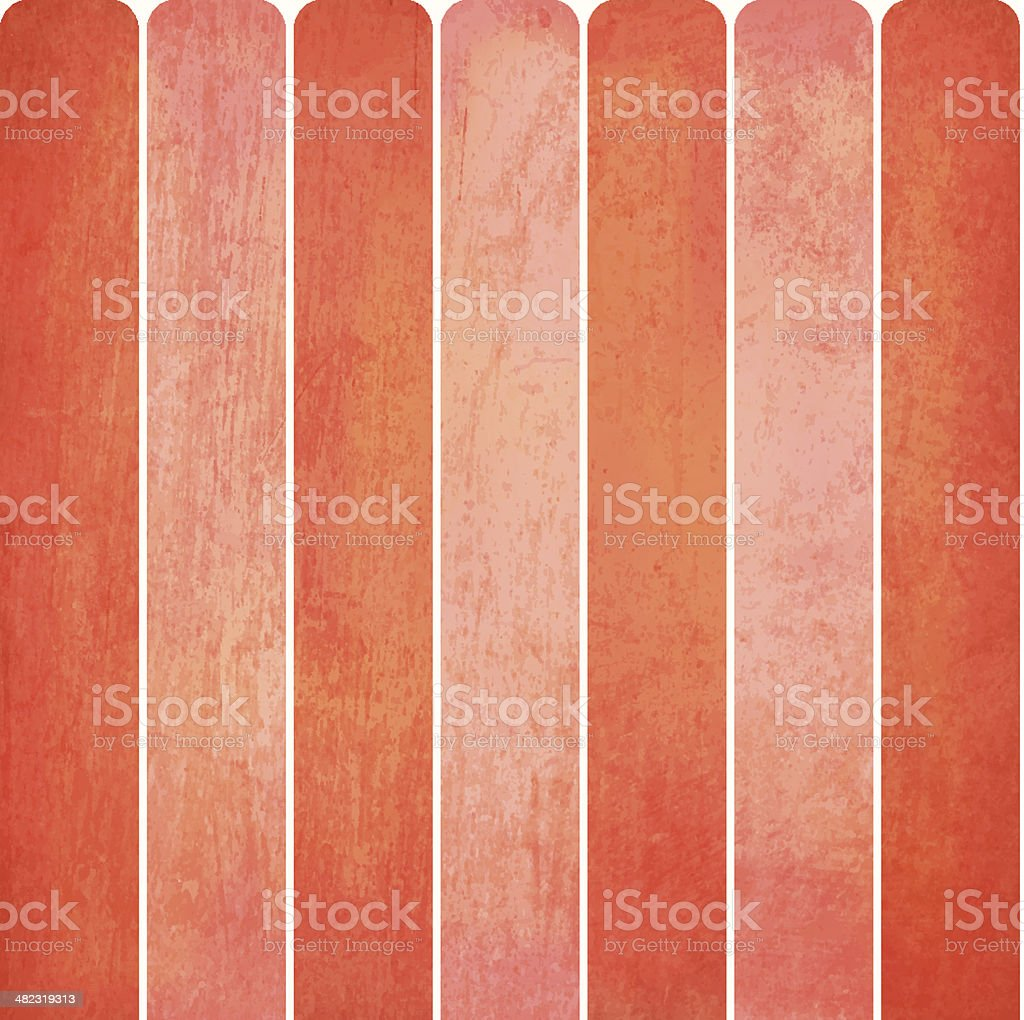 Grunge Vector Fence royalty-free stock vector art
