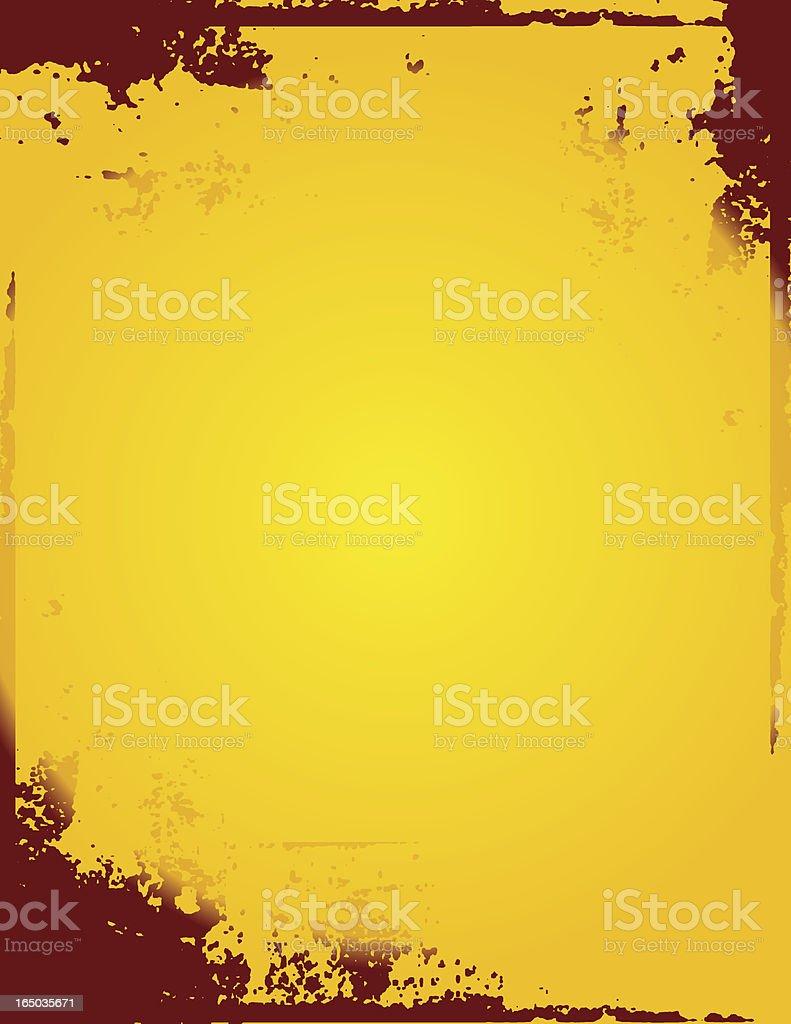 Grunge Vector Frame royalty-free stock vector art