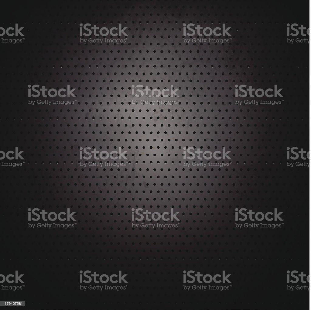 Grunge Vector Metal Background royalty-free stock vector art