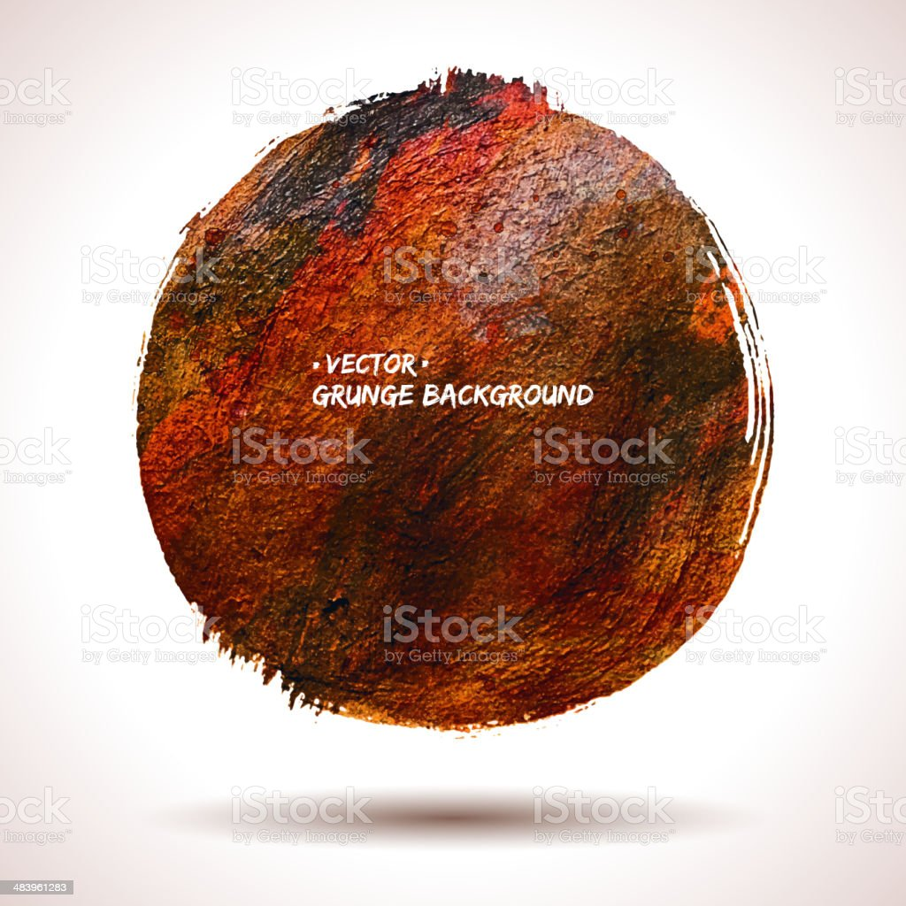 Grunge vector shape royalty-free stock vector art