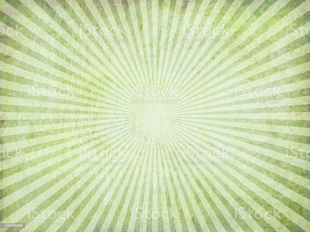 Grunge Vector Sunburst vector art illustration