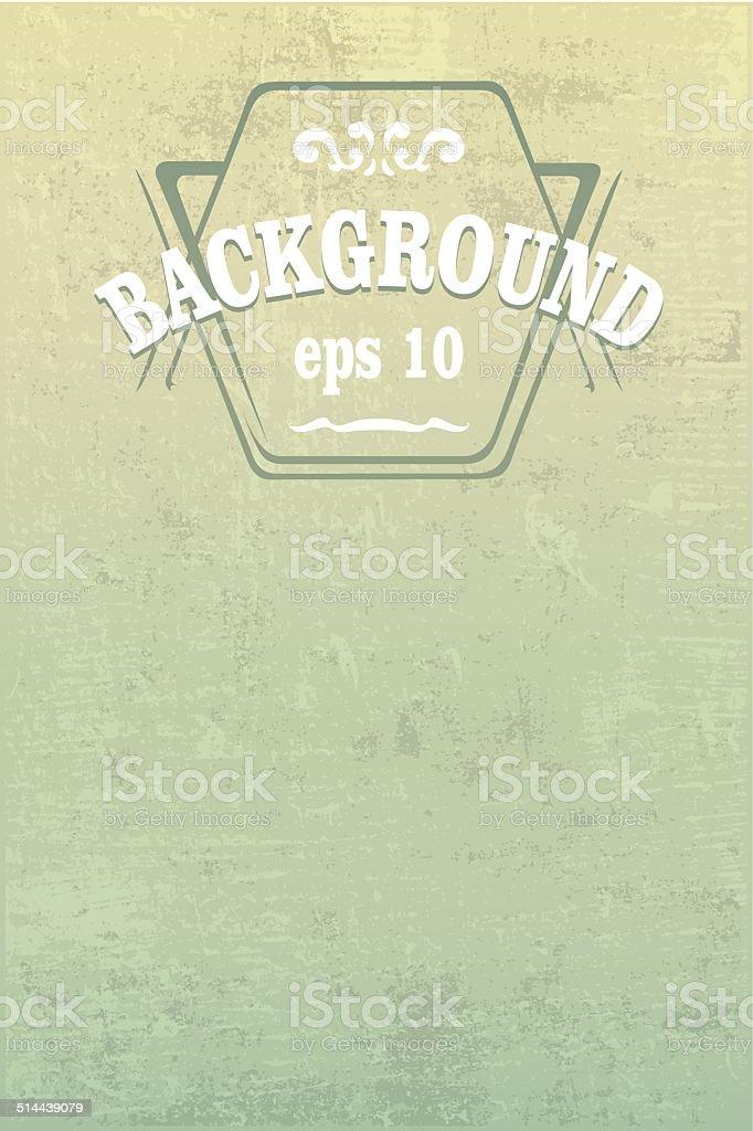 grunge vintage background vector art illustration