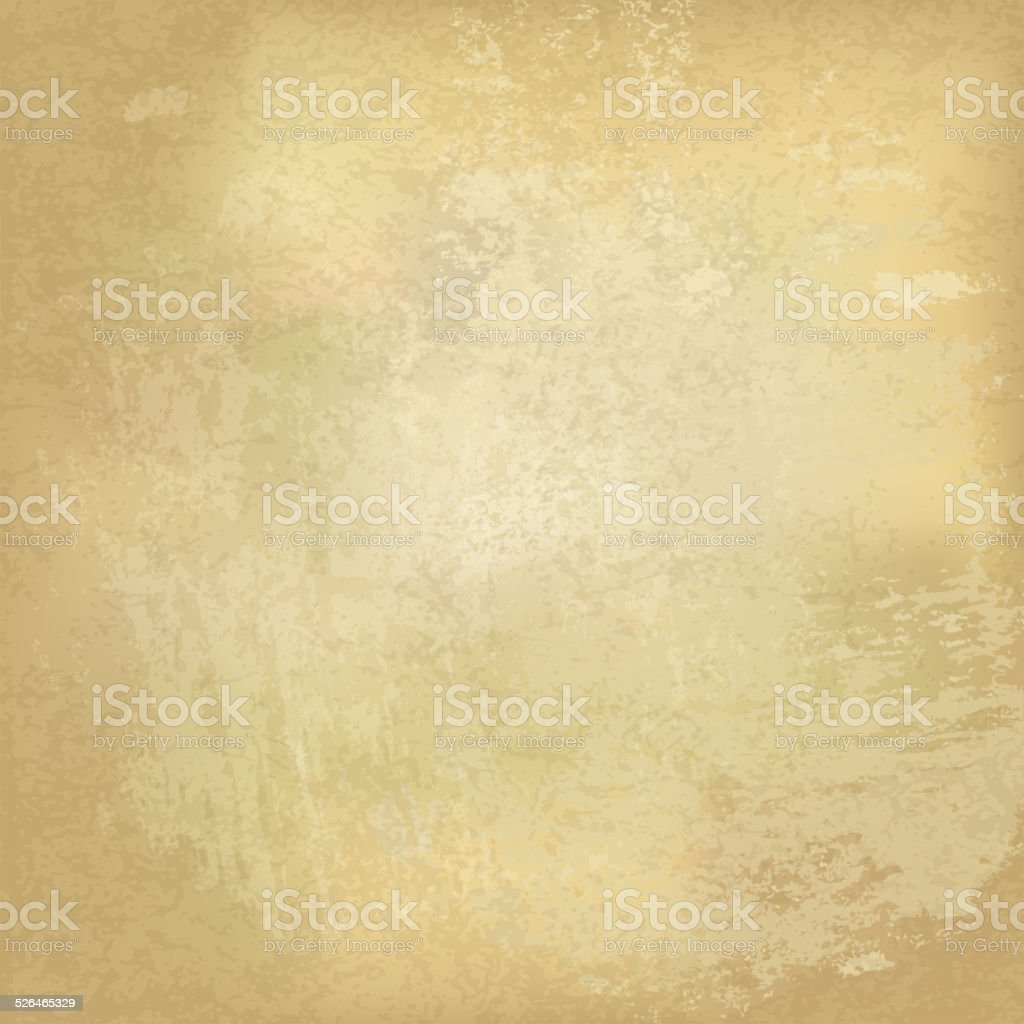 Grunge vintage old paper background. Vector, EPS10 vector art illustration