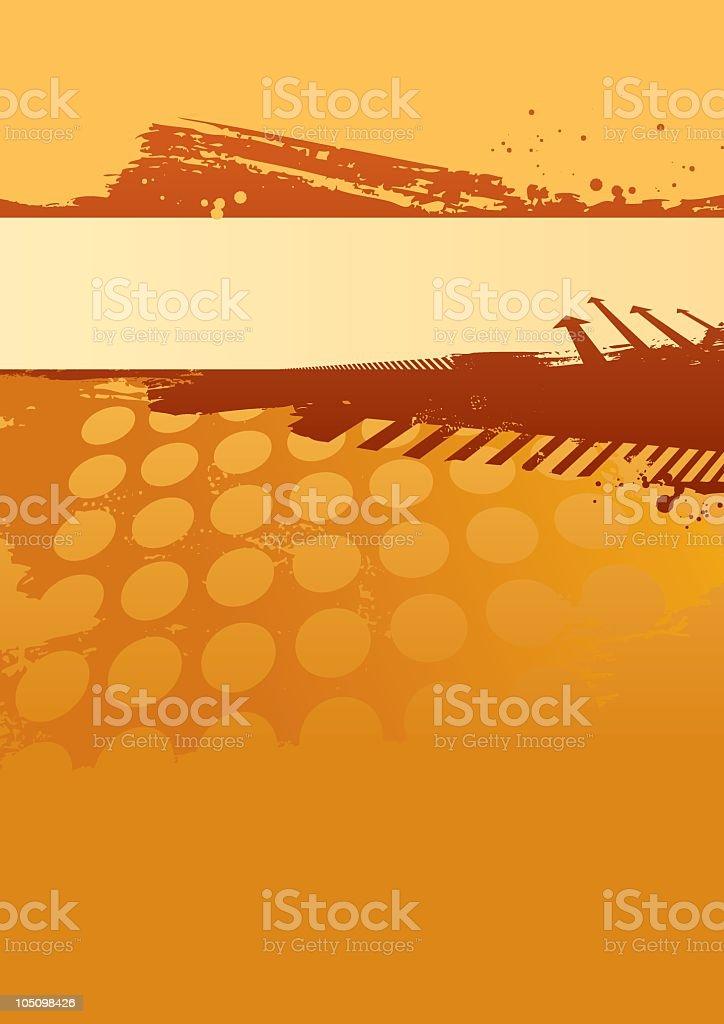 Grunge wallpaper art background royalty-free stock vector art