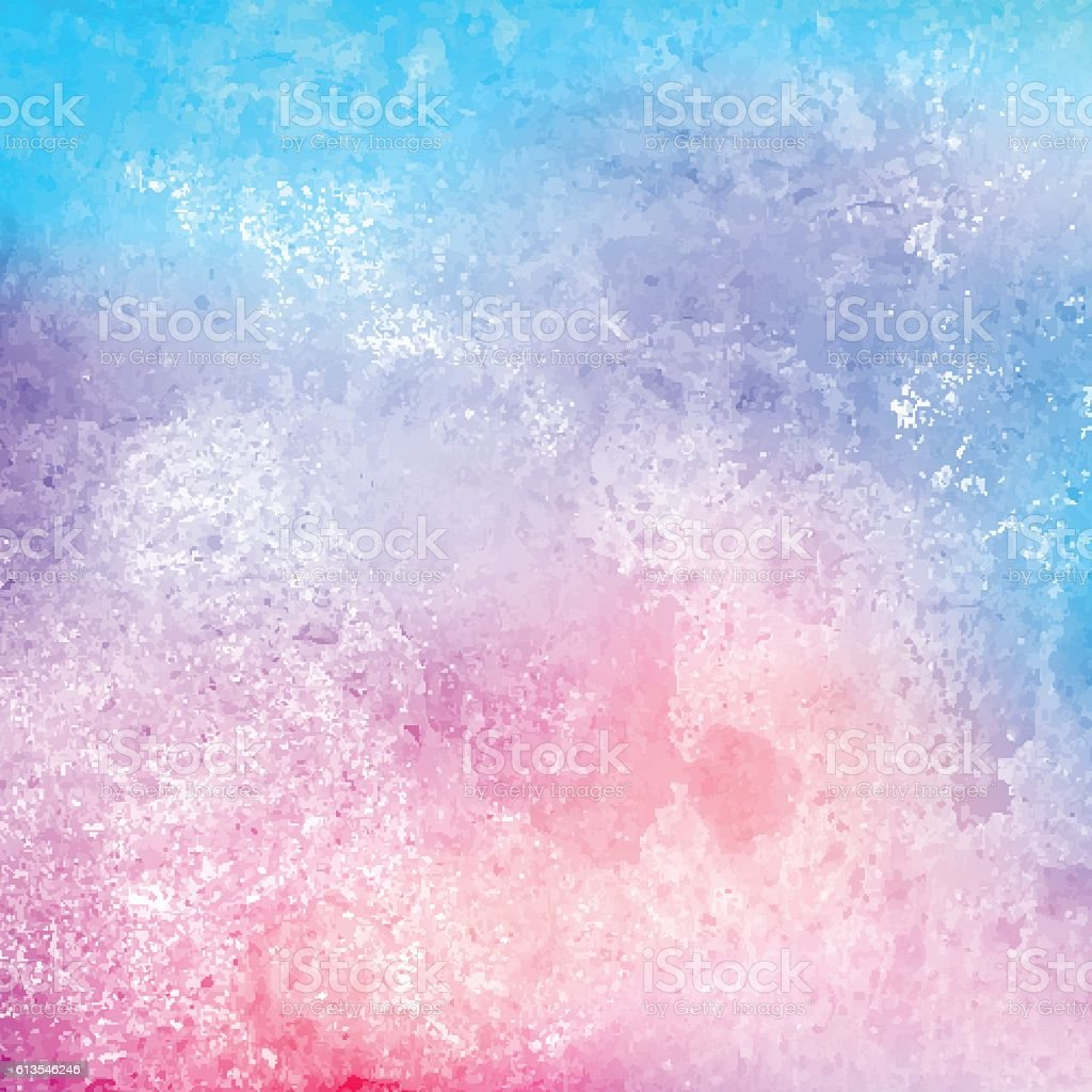 Grunge Watercolor Texture Background Stock Vector Art