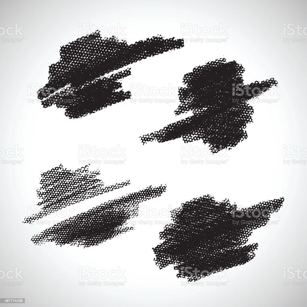 GrungeStroke vector art illustration