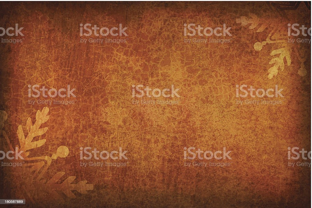 Grungy Vector Christmas Background vector art illustration