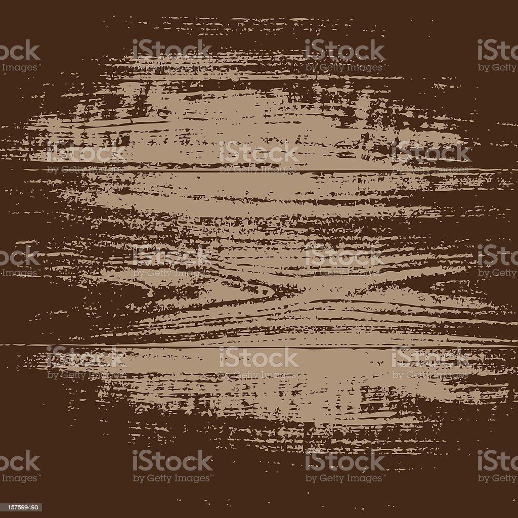 Grungy Wood Texture Background vector art illustration
