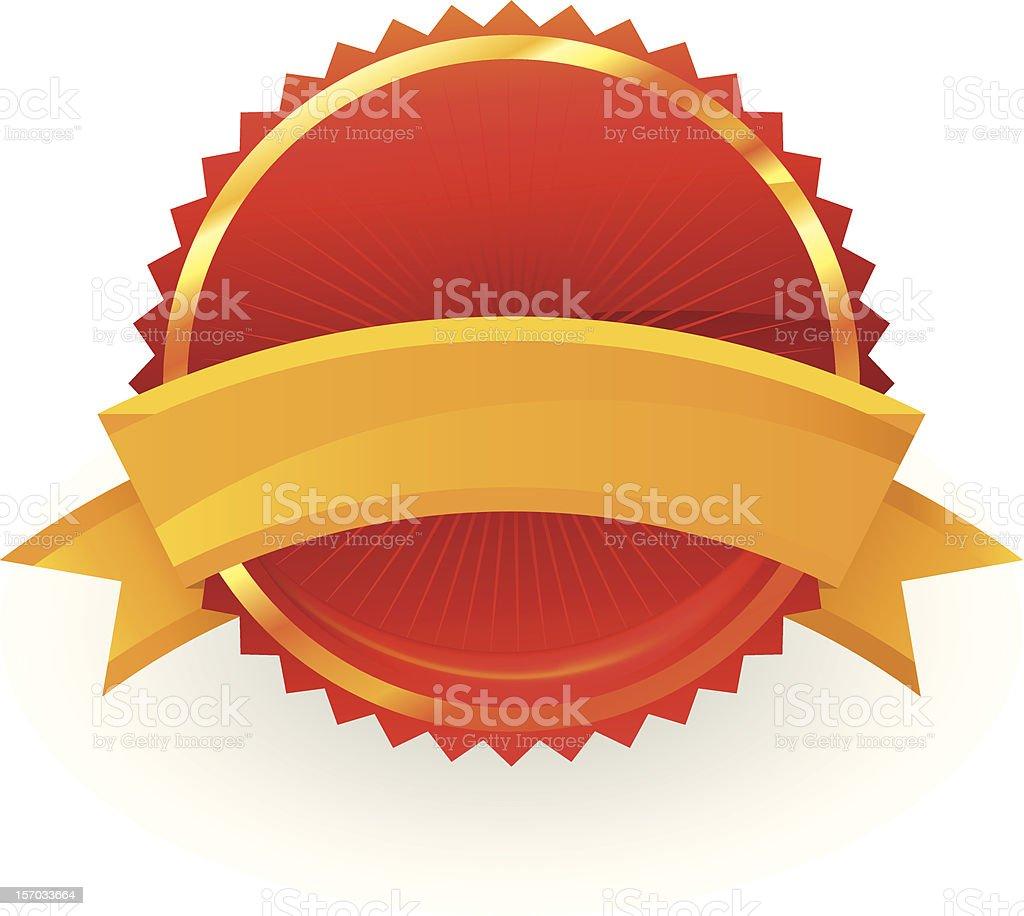 guarantee badge royalty-free stock vector art