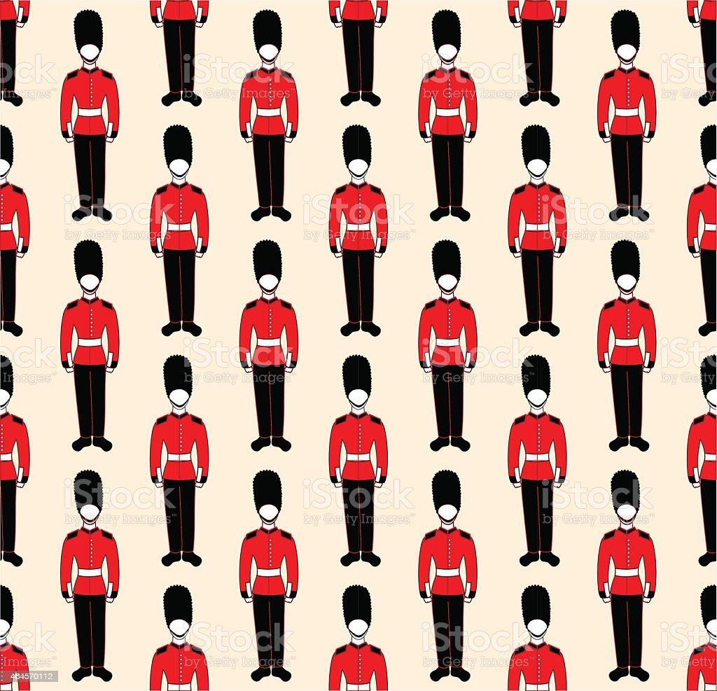 guardsmen vector art illustration