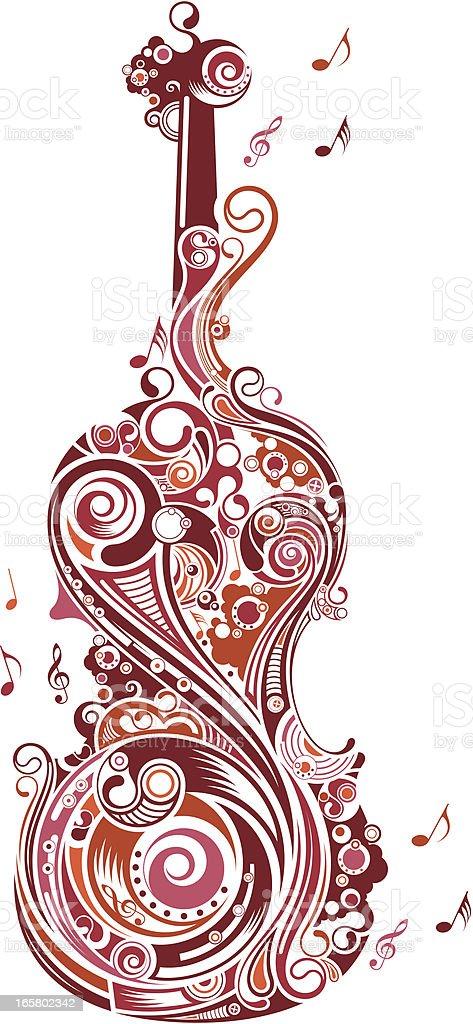 guitar. royalty-free stock vector art