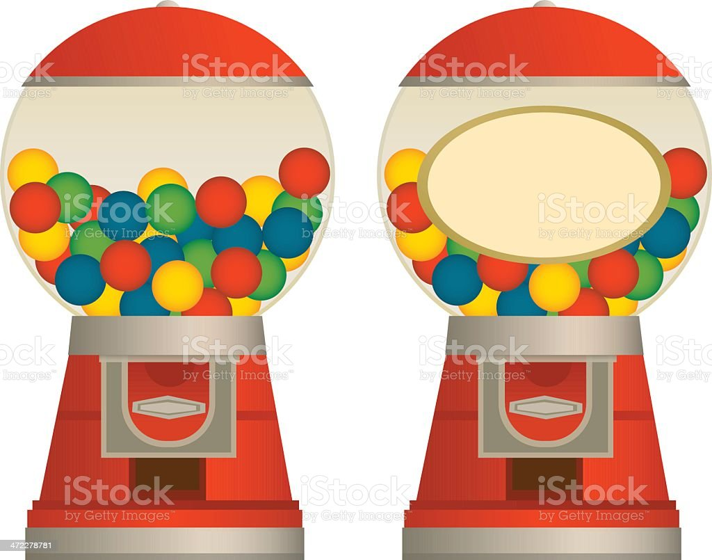 Gumball Machine royalty-free stock vector art