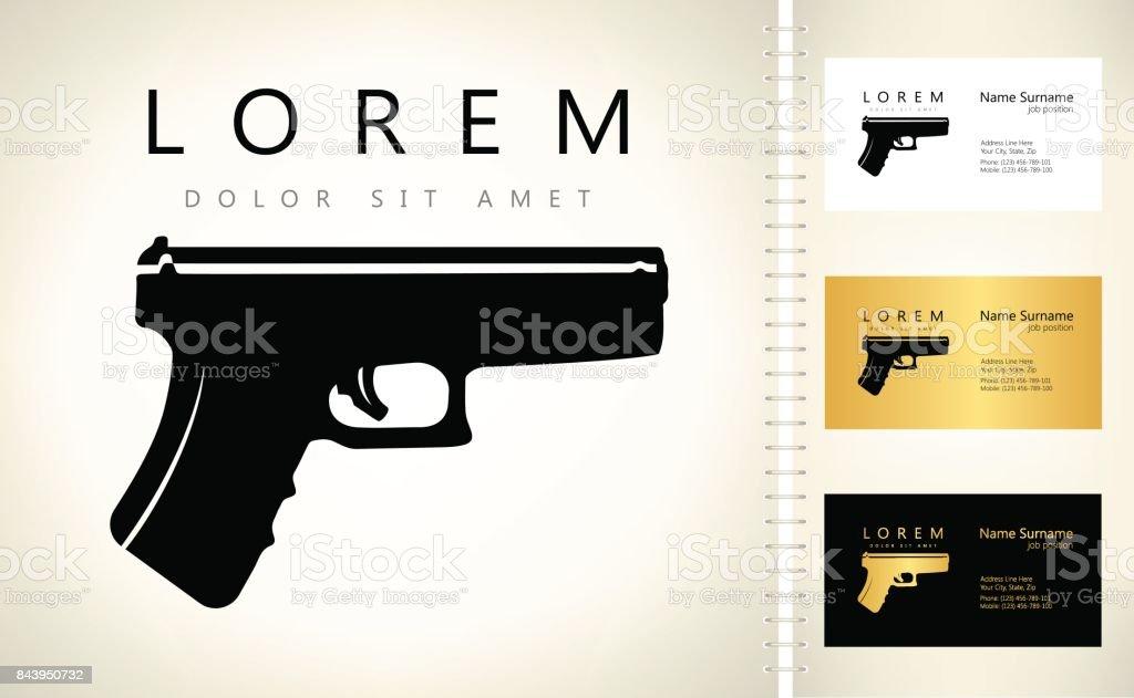 Gun Symbol Firearms Stock Vector Art 843950732 Istock