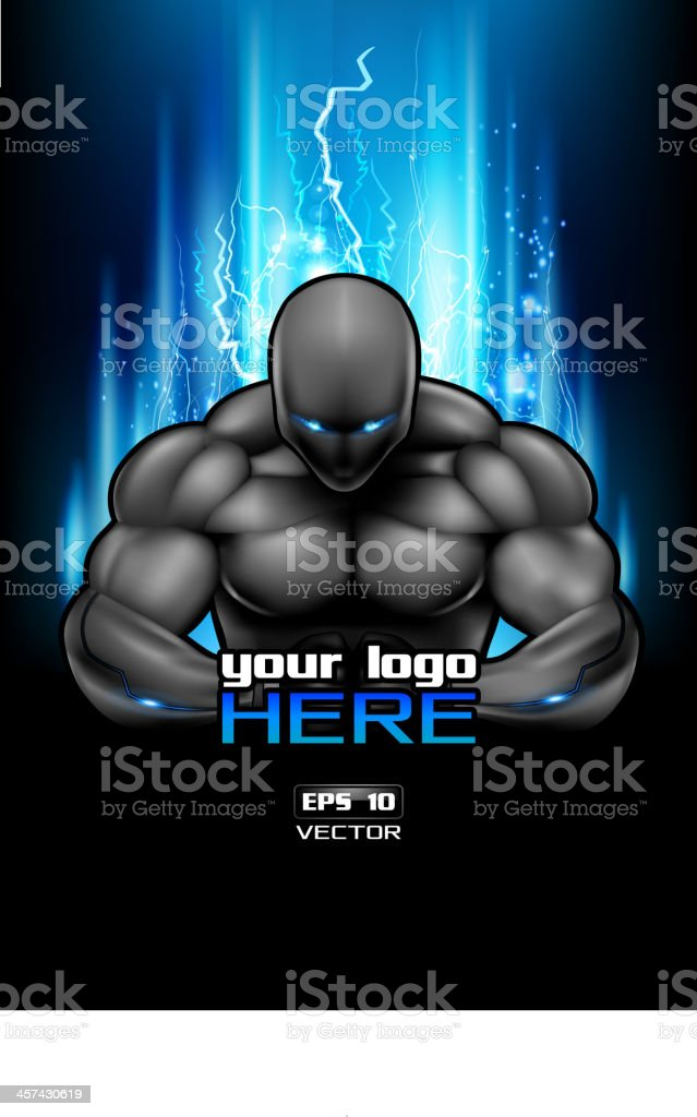 Gym poster design royalty-free stock vector art