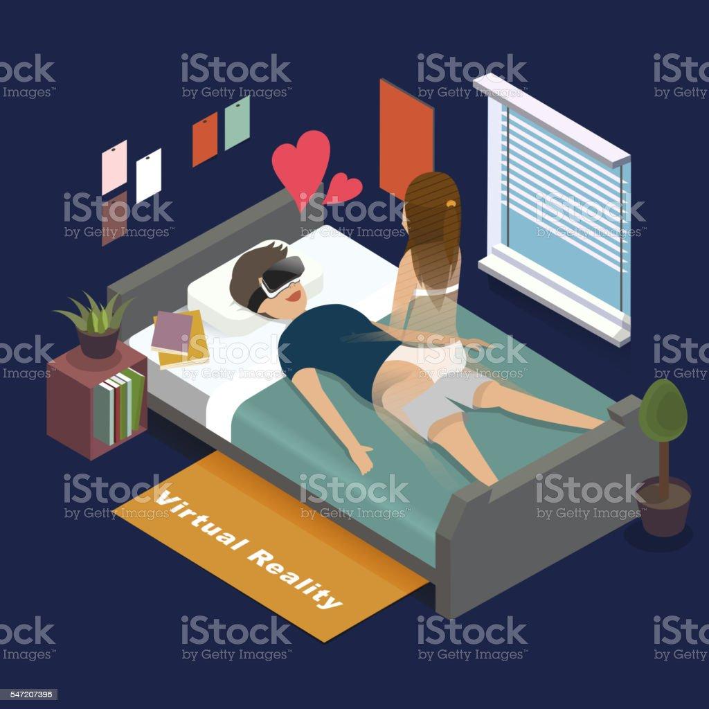 H11Bp0002IsometricStyleIllustration-03 vector art illustration