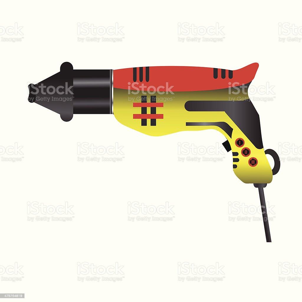 hair dryer royalty-free stock vector art