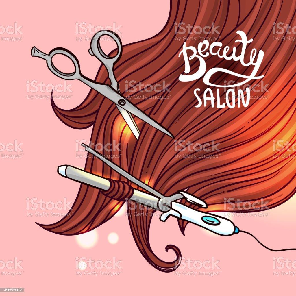 haircut vector illustration vector art illustration