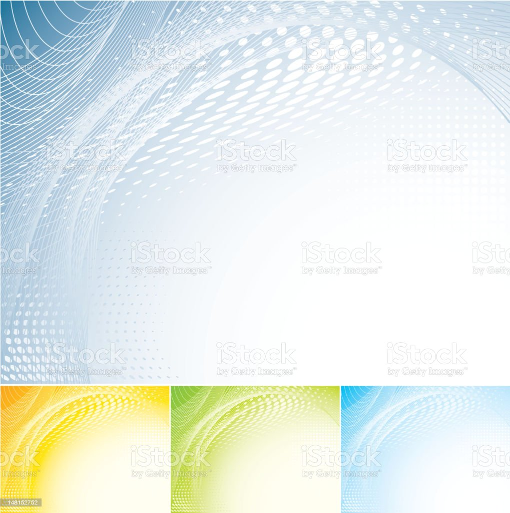 Halftone abstract background royalty-free stock vector art