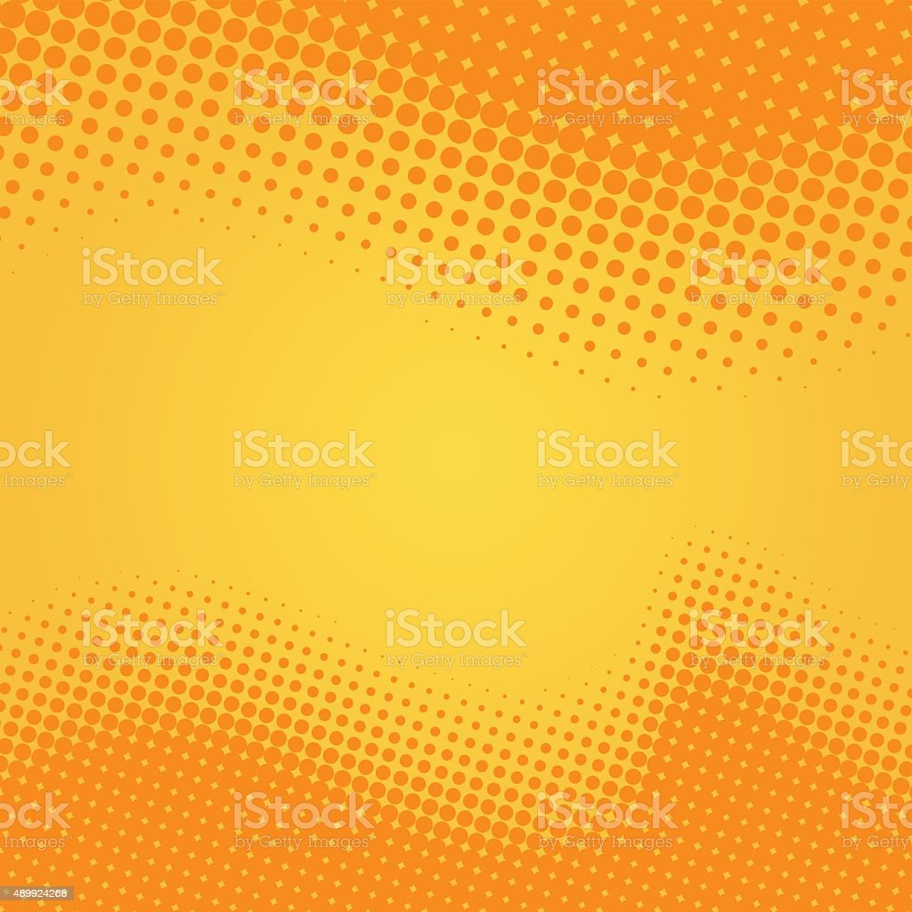 Halftone Background vector art illustration