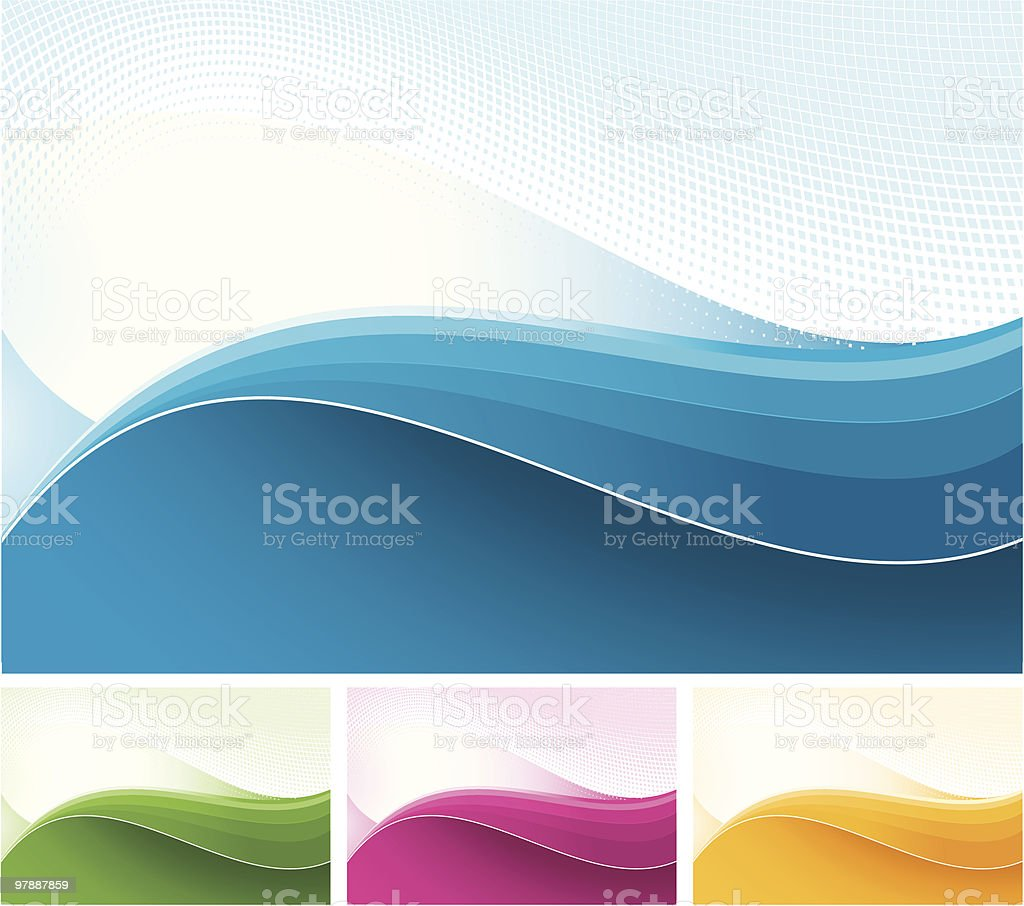Halftone Background royalty-free stock vector art