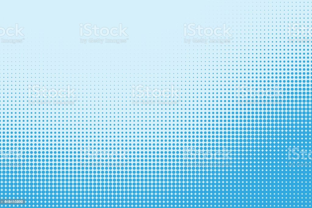 Halftone dotted pattern as a background vector art illustration