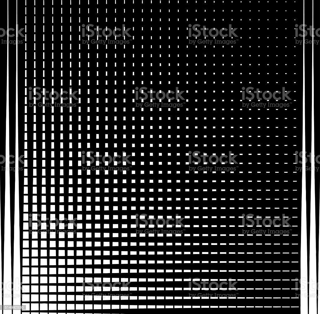 Halftone Pattern Grid Background vector art illustration