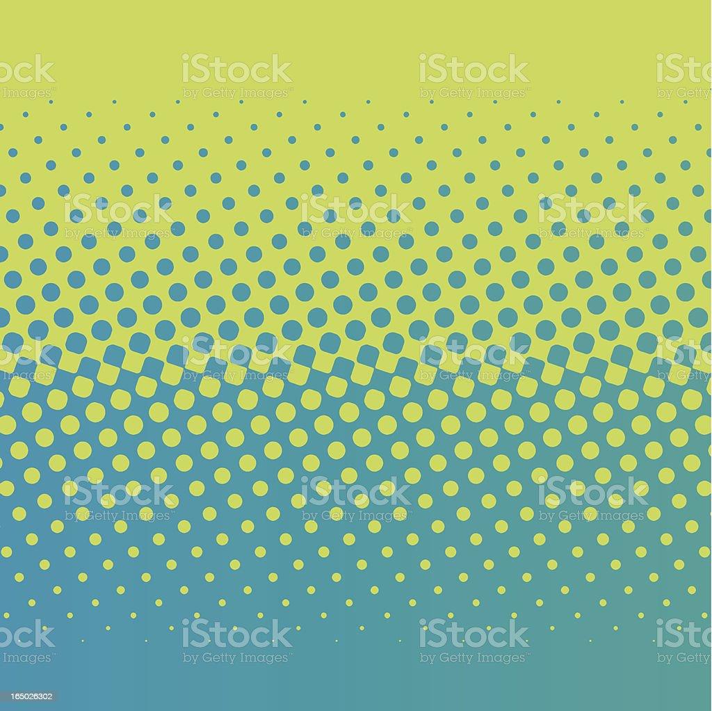 halftone screen gradation royalty-free stock vector art