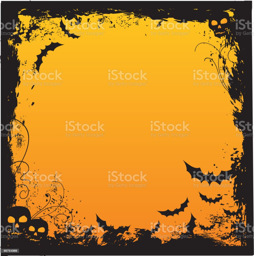 Halloween background royalty-free stock vector art
