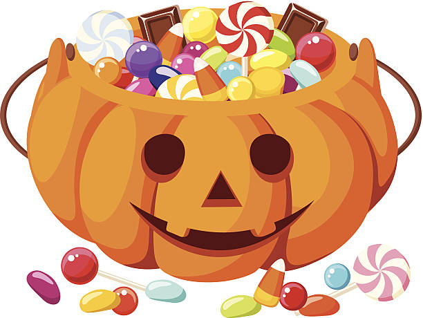 Halloween Candy Clip Art, Vector Images & Illustrations ...
