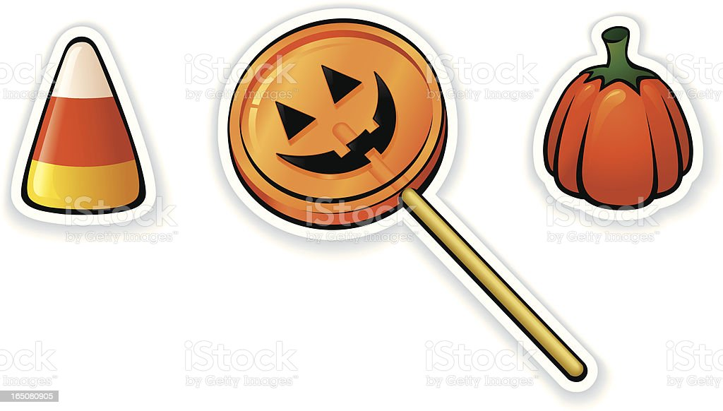 Halloween Candy royalty-free stock vector art