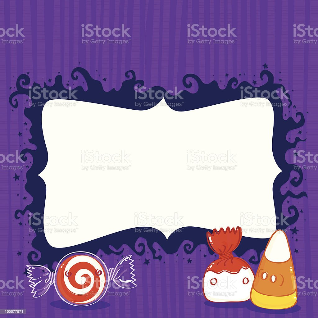 Halloween candy royalty-free stock vector art