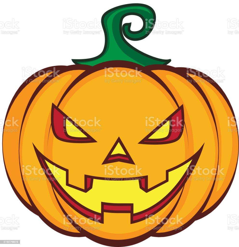 Rapaz De Abóbora Jack Lanterna De Halloween Isolado No