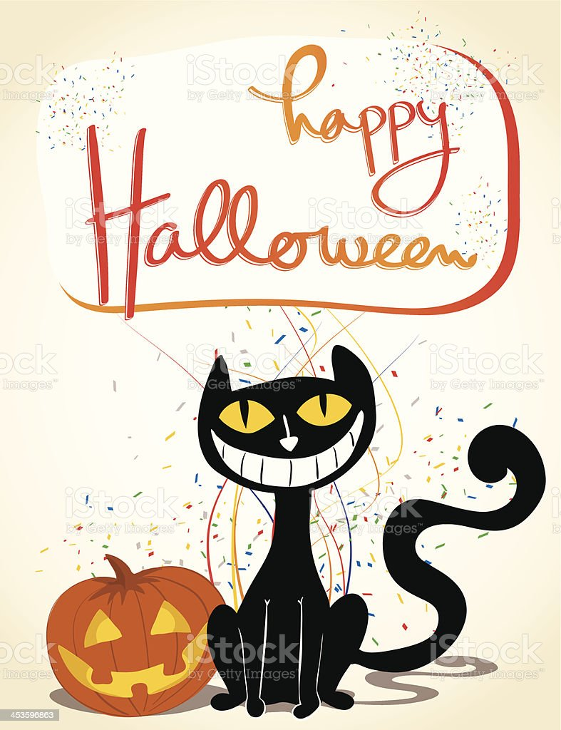 Halloween Celebration vector art illustration