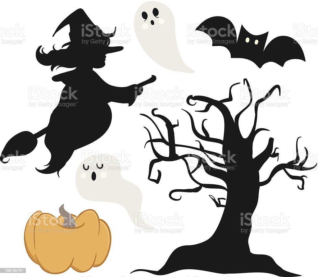 Halloween Collection royalty-free stock vector art